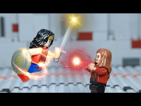 Lego Superheroes Champion Wonder Woman vs Scarlet Witch Episode 05
