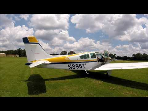 Beechcraft Bonanza F33 Low Pass