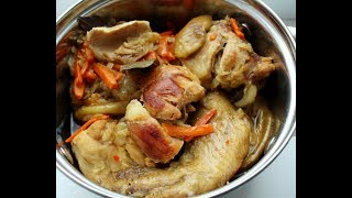 Тушеная курица в мультиварке / Простой очень вкусный рецепт / Как приготовить сочную, нежную курицу