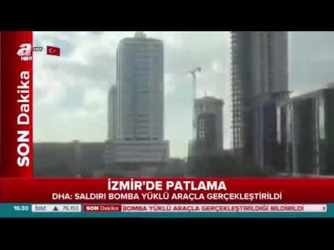 Izmir'de patlama 2 ölü var !!