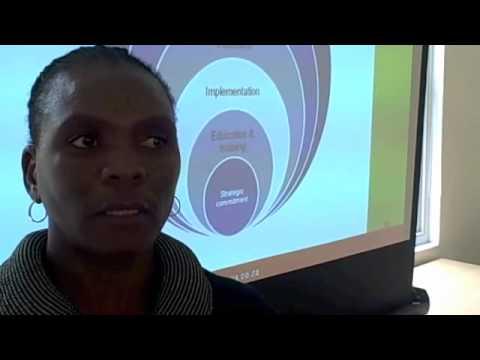 HIV AIDS roundtable, Dorcus Molomo