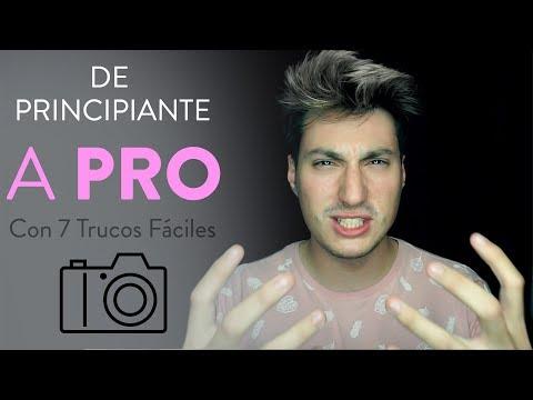 Como Empezar a Hacer Buenas Fotos Profesionales - 7 Consejos para Aprender Fotografía