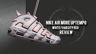 Nike Air More Uptempo 'Varsity Red'