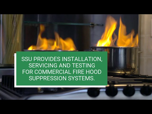 Commercial Kitchen Hood Suppression System