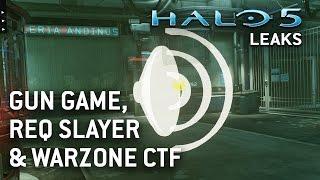 Halo 5 Leaks - Gun Game, REQ Slayer, Race, & Warzone CTF/Assault