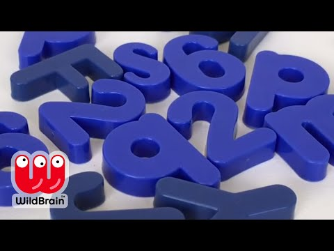 Learning Colors With Letters - Red Blue Yellow Alphabet Magnets Kids ⚫️🔴🔵 Learn Colors Fun Toys