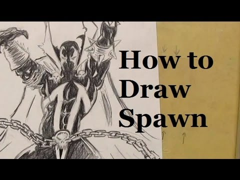 Ep. 3 How to Draw Spawn Part 4 of 4 - 동영상