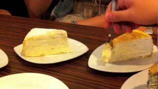 Layer Cakes Mille Crepe At Nadeje Patisserie, Melaka