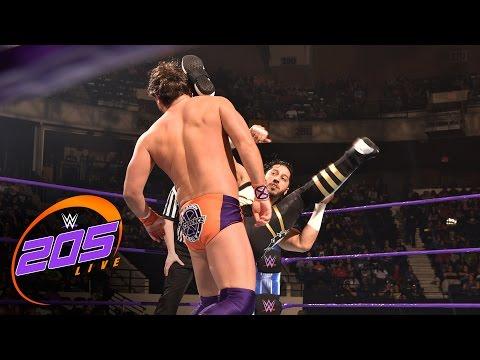 Mustafa Ali vs. Brandon Scott: WWE 205 Live, March 28, 2017