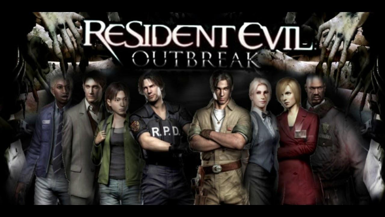 Resultado de imagem para resident evil outbreak file 2