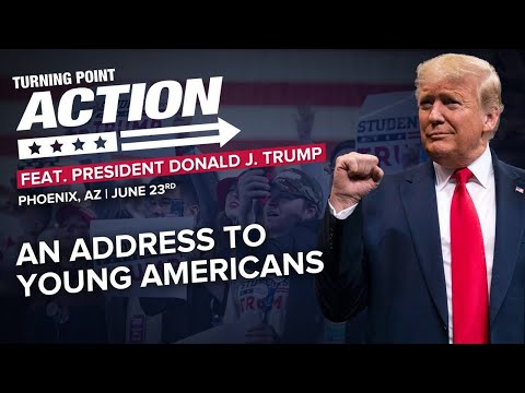 🔴 President Trump Speaks to Young Americans at Turning Point Action Convention in Phoenix