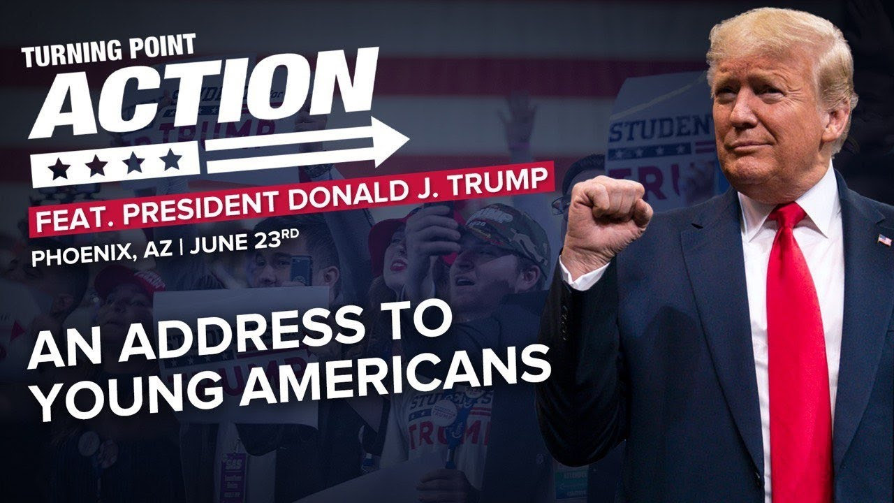 ? President Trump Speaks to Young Americans at Turning Point Action Convention in Phoenix