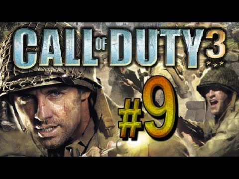 Call of Duty 3 - chapter 9 - Laison River, Near Falaise, France (PS3, XBOX360, PS2)