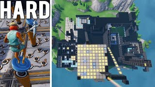 COURSE d'OBSTACLES MAZE DE L'ESCAPE BEST DE HARDMD dans Fortnite Creative (avec code)