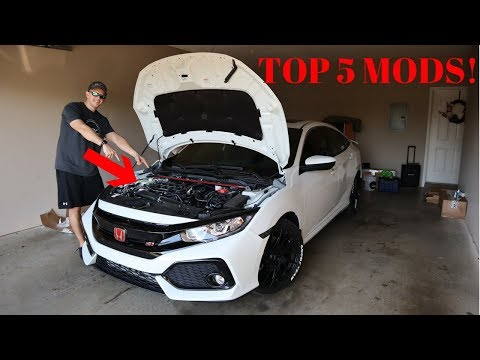 Top 5 Must Have Mods For Performance | 10th Gen Civic