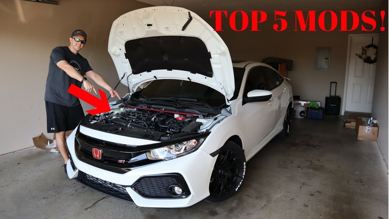 top 5 must have mods for performance 10th gen civic. Black Bedroom Furniture Sets. Home Design Ideas