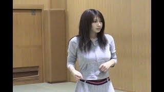 小林恵美ちゃんの、アクション稽古動画です。 Emi Kobayashi.