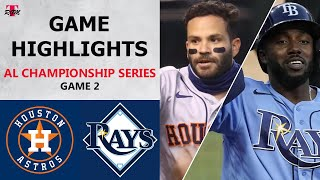 The houston astros look to tie series up at one after losing first game of blake snell and tampa bay rays. send lance mc...