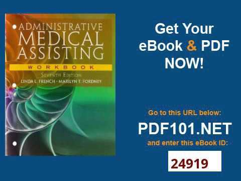 Administrative Medical Assisting With Worksheet