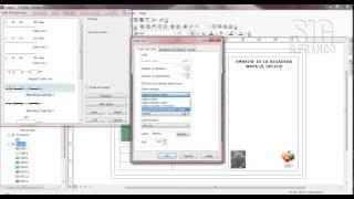 Tutorial ARCGIS Cap.5-08 Layout Insertar Escala de texto y escala de barra