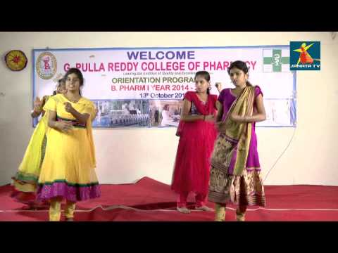 B.Priyanka and Group Dance From G.Pulla Reddy Collage of Pharmacy