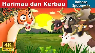 Video Harimau dan Kerbau | Tiger and Buffaloes Story in Indonesian | Dongeng anak | Indonesian Fairy Tales download MP3, 3GP, MP4, WEBM, AVI, FLV Juli 2018