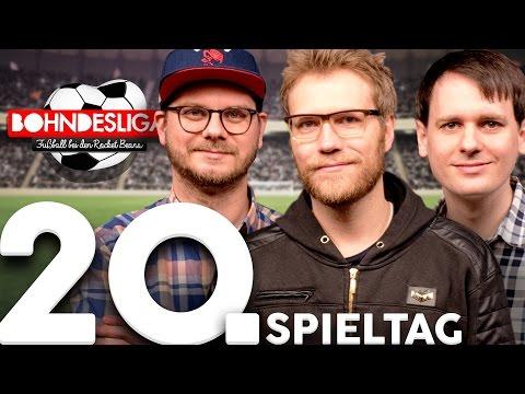 20. Spieltag der Bundesliga in der Analyse | Bohndesliga-Fußball bei Rocket Beans | 13.02.2017