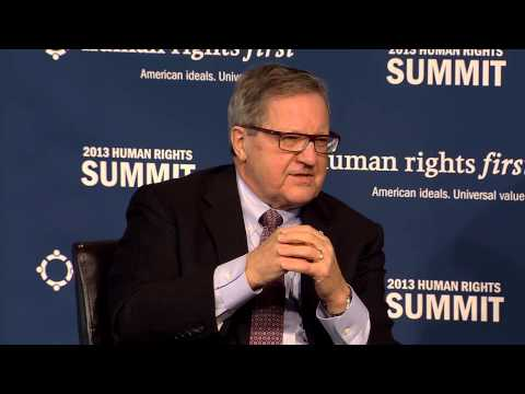 How do American Allies View U.S. Leadership on Human Rights?  Human Rights First Summit 2013