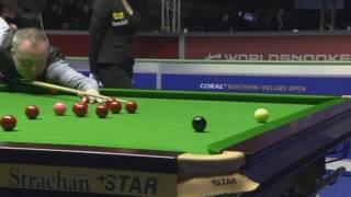 SNOOKER TV - Maximum break 147 by John Higgins in last frame of the match with Sam Craigie