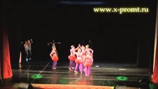 "Танец живота  шоу ""Тыковки"". Belly dance show ""Pumpkins""."