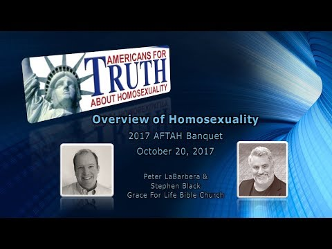 2017 AFTAH Banquet - An Overview of Homosexuality - Stephen Black (2 of 5)