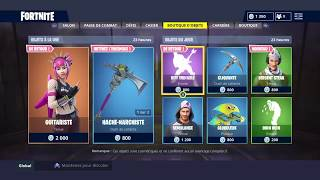"FORTNITE BOUTIQUE From September 10th New Skin ""SERGENT STEAK"" - Back From Skin ""GUITARISTE"""