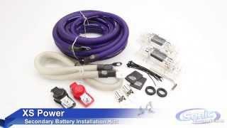 xs power secondary battery installation kits