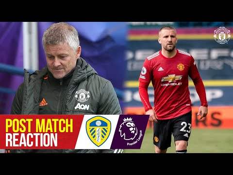 Solskjaer & Shaw react to Elland Road draw | Leeds United 0-0 Manchester United | Premier League