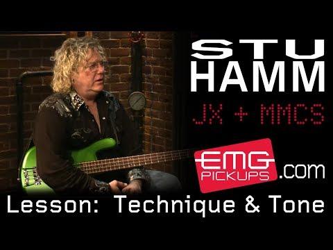 Stu Hamm talks chord shapes on Technique and Tone, EMGtv