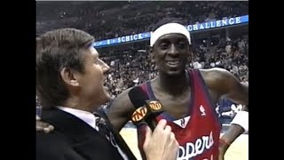 Darius Miles' Entertaining Rookie Game Highlights (2001)