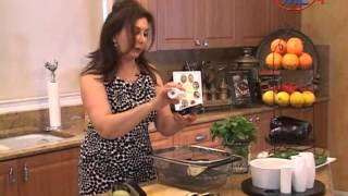 Samira's Kitchen # 35 Chicken Kabob, Grilled Eggplant, Mint Cucumber Salad, Pistachio Cake