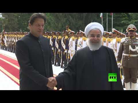 شاهد.. مراسم استقبال الرئيس الإيراني حسن روحاني لـ رئيس الوزراء الباكستاني في طهران  - نشر قبل 4 ساعة