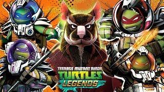 черепашки-Ниндзя: Легенды - ПЛАТИНОВОЕ СПЛИНТЕР ПРОТИВ УЧЕНИКОВ (TMNT Legends UPDATE X)
