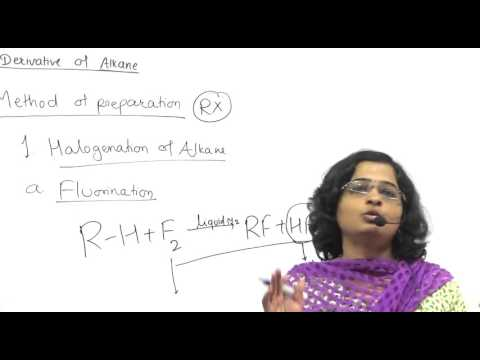 Halogen Derivatives Of Alkane Lecture 4 Saptarshi Classes