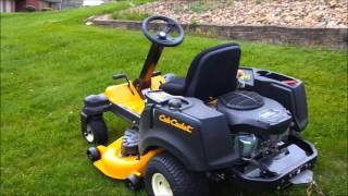 cub cadet rzt s with striper demonstration and review
