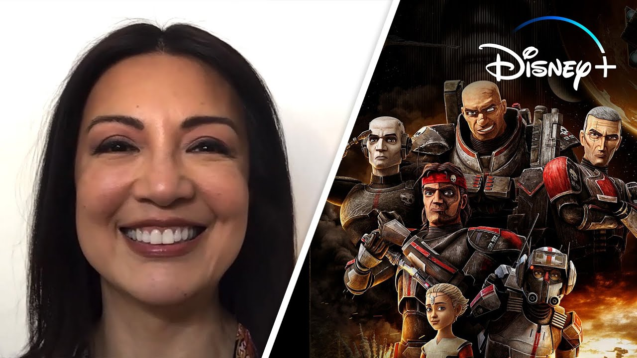 Ming-Na Wen Reacts to Star Wars: The Bad Batch Characters   Disney+