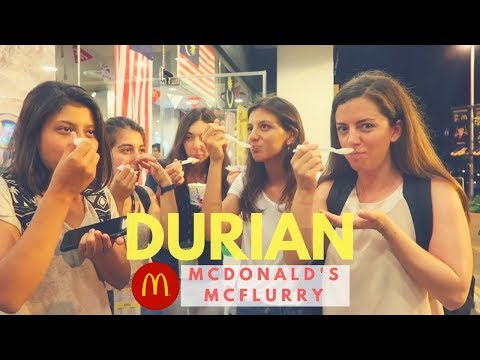 McDonald's Durian McFlurry Review (feat. Friends from Turkey!)