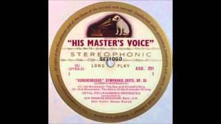 imsky Korsakov, Scheherazade, 1,2mov, Sir Thomas Beecham,cond