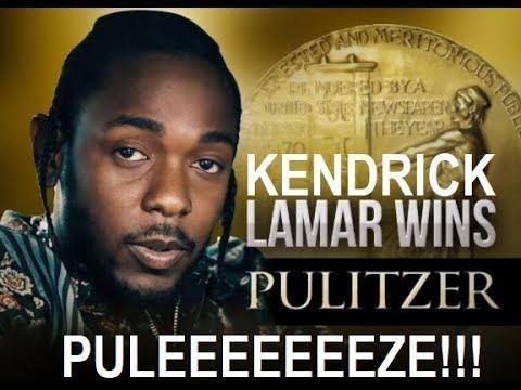 Kendrick Lamar Wins Pulitzer - PULEEEEEEEZE