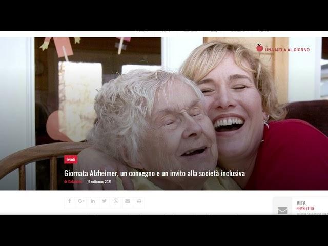 Una Mela al Giorno: Giornata Mondiale dell'Alzheimer in Italia