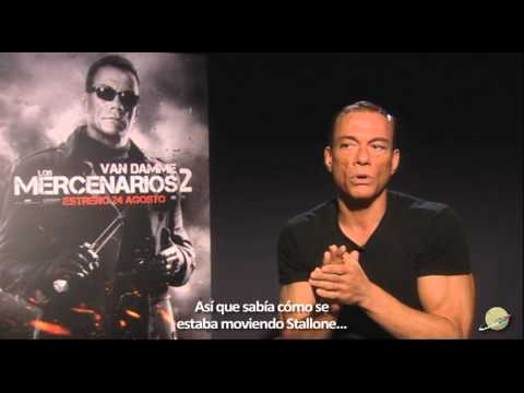 The Expendables 2 - Dolph Lundgren and Jean-Claude Van Damme