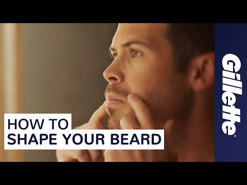 How to Shape Your Beard | Facial Hair Styles Tips with Gillette STYLER