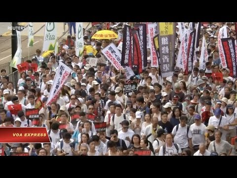 Chính phủ lưu vong Tây Tạng bày tỏ đoàn kết với người biểu tình Hong Kong (VOA)