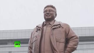 В Северной Корее отмечают день рождения Ким Чен Ира